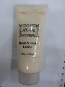 Hand And Body Lotion HKDR Cosmetik